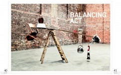 Balancing Act, Spaces Magazine 2008, Photographer: Ken Sparkes
