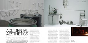 Accidental Aesthetics, Profile of Dutch Designer Sarah Van Gameren, Spaces 2008