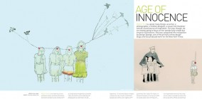 Age of Innocence, Profile of Illustrator Alyson Fox, Spaces 2008