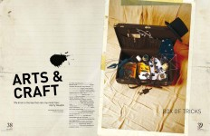 Arts and Craft, Spaces Magazine, 2008, Photographer: Ken Sparkes