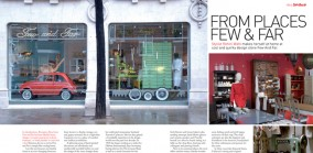 From Places Few and Far, Profile on the opening of Few and Far, London, Spaces 2008