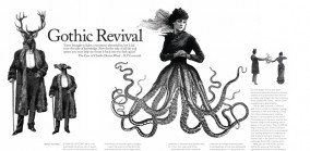 Gothic Revival, Profile of Artist Dan Hillier, Spaces 2008