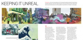 Keeping It Unreal, Profile of LA based illustrators, Kozyndan, Spaces 2008