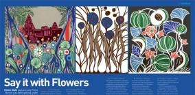 Say It With Flowers, Profile of Artist Petra Borner, Spaces 2009